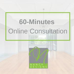 NancyDesigns 60 minutes Online Consultation