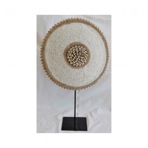 Beaded Shield on Stand | Nancy Design
