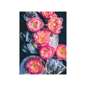 Delft Plate Design Tea Towel | Nancy Design