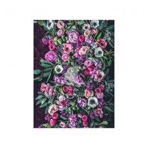 Pink Dreams Design Fleece Throw | Nancy Design