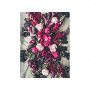 Pink Peony Table Cloth | Nancy Design